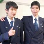 書記局の田中さんと中川さん